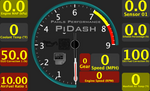 PiDash Gauge Layouts