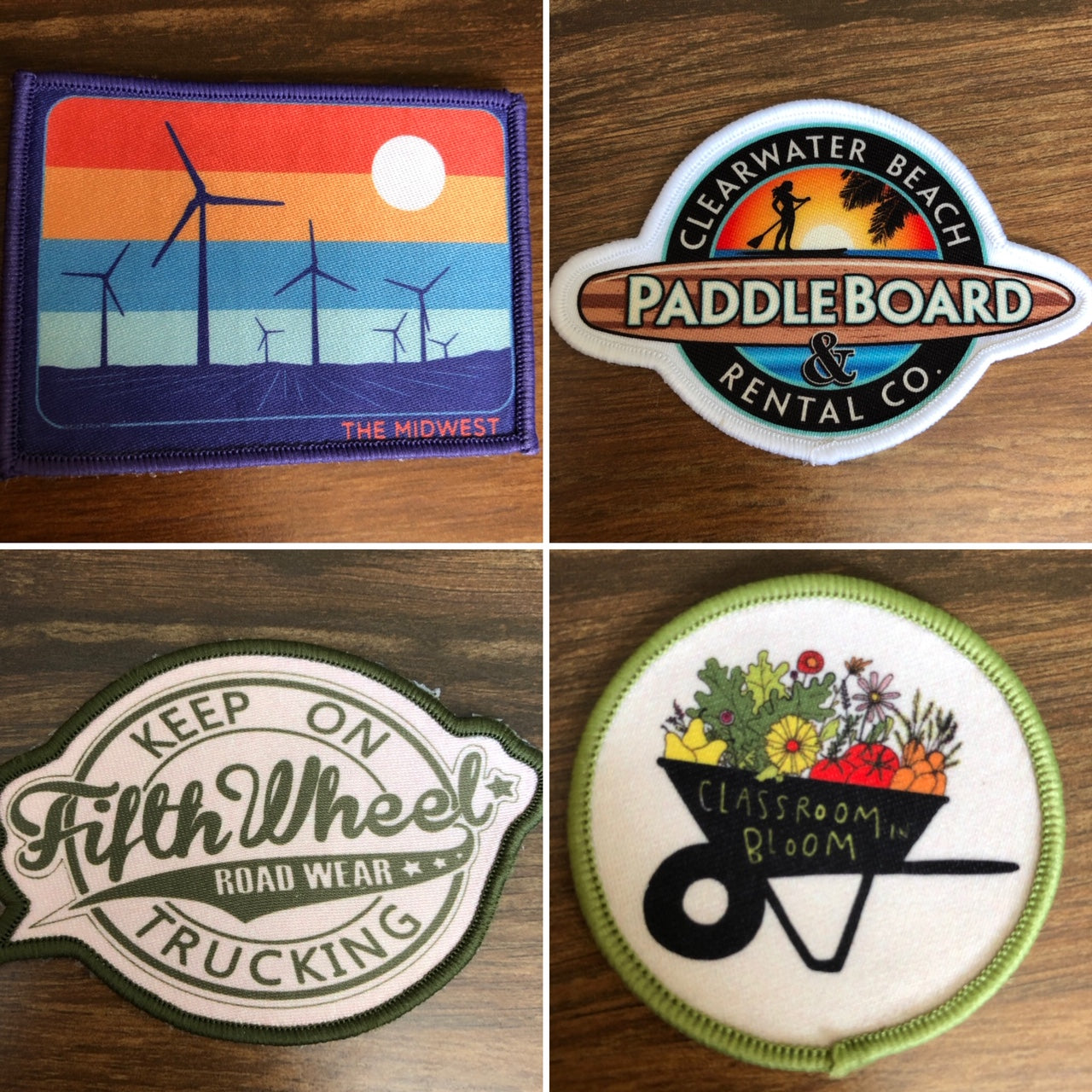 photo regarding Printable Iron on Patches titled Posted Patches (Sew-Upon or Iron-Upon!) -