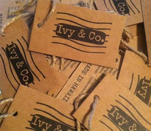 Natural Kraft Card-Stock Hang Tags
