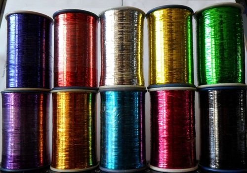 Lurex shiny metallic yarn