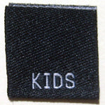 Kids Size Clothing Labels (stock labels)