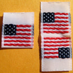 """Made in the USA"" Stock Woven Labels"