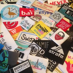 woven logo clothing labels