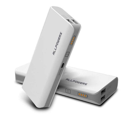 15,600 mAh Dual-Output Mobile Power Bank With Charge Indicator - HYPR Supply