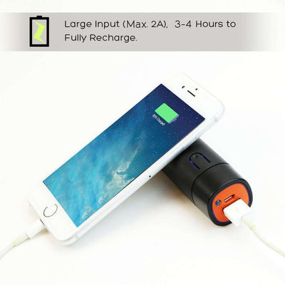 5,000 mAh Mobile Power Bank With LED Flashlight - HYPR Supply
