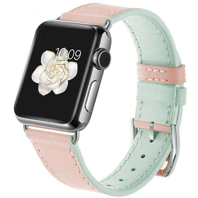 Apple Watch - 2-Tone Genuine Leather Band - HYPR Supply