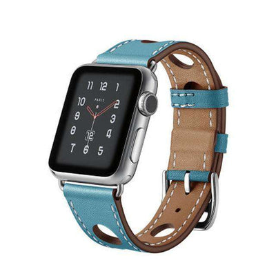 Apple Watch - Breathable Genuine Leather Band - HYPR Supply