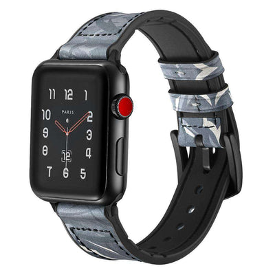 Apple Watch - Camouflage Genuine Leather Band - HYPR Supply