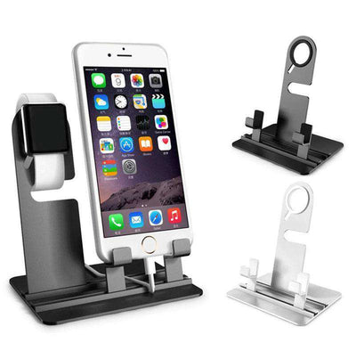 Apple Watch/iPhone/Samsung Galaxy Adjustable Dock & Charging Station - HYPR Supply