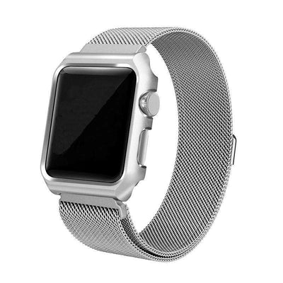 Apple Watch - Milanese Magnetic Band With Case - HYPR Supply