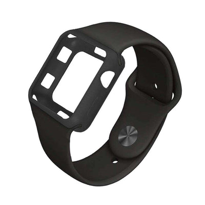 Apple Watch - Soft Silicone Band with Protective Case - HYPR Supply