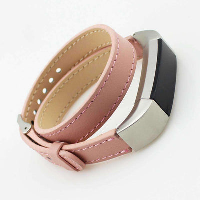 Fitbit Alta/Alta HR - Double Tour Genuine Leather Band - HYPR Supply