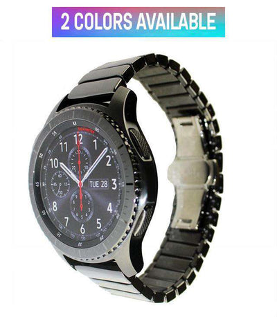 Samsung Gear S3 - Ceramic Butterfly Buckle Band - HYPR Supply
