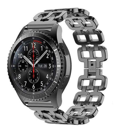Samsung Gear S3 - Stainless Steel Chain Link Band - HYPR Supply