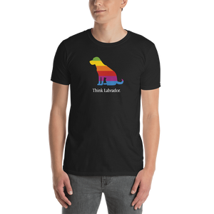 Think Labrador. Short-Sleeve Unisex T-Shirt