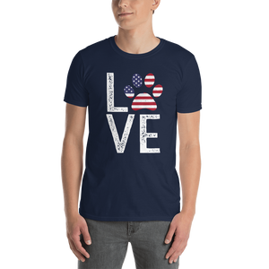 Love. Short-Sleeve Unisex T-Shirt