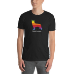 Think German. Short-Sleeve Unisex T-Shirt