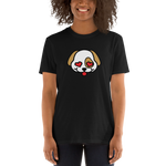 Puppy face with hear eyes. Short-Sleeve Unisex T-Shirt