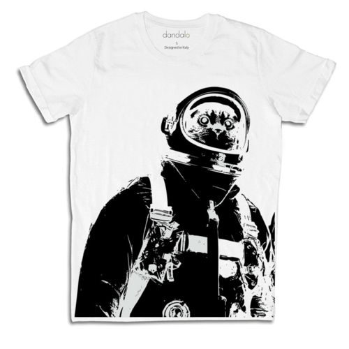"T-Shirt Uomo ""Astro Cat"""