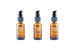 travel size gift set of all natural body oil trio