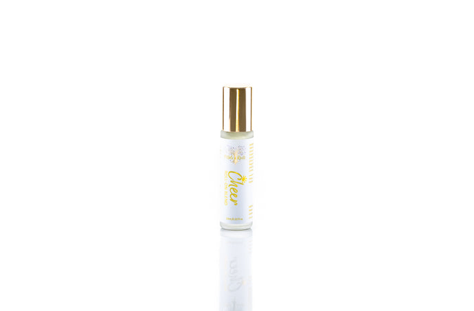 Cheer, Pure Aromatherapy roll on blend, bright floral and citrus, featuring magnolia, uplifting all natural perfume