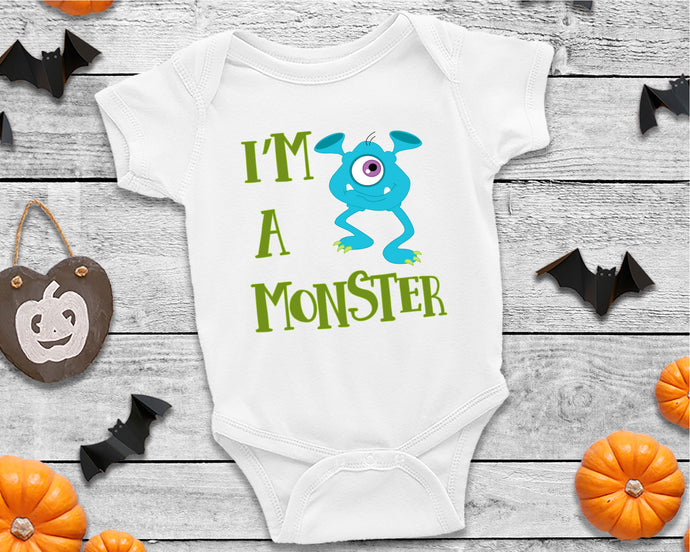 I'm A Monster SVG - Crafty Mama Studios