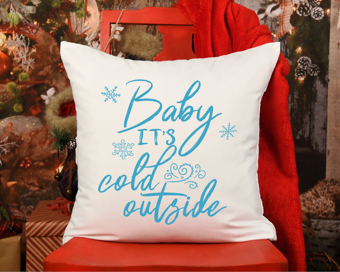 Baby It's Cold Outside SVG - Crafty Mama Studios