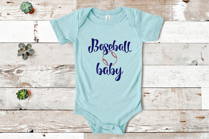 Baseball Baby SVG - Crafty Mama Studios