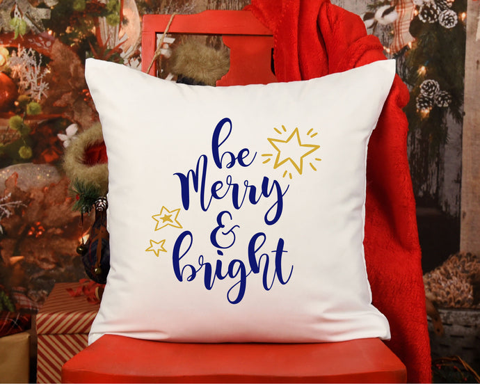 Be Merry And Bright SVG - Crafty Mama Studios