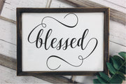 Blessed SVG - Crafty Mama Studios