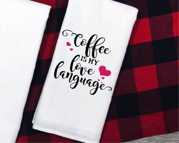 Coffee Is My Love Language SVG - Crafty Mama Studios