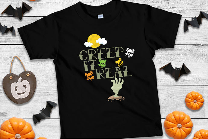 Creep It Real, Zombie Halloween SVG - Crafty Mama Studios