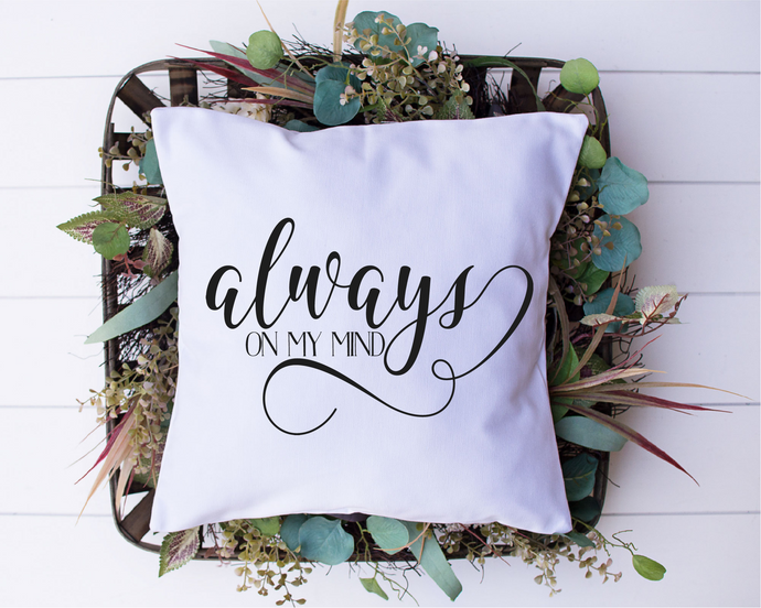 Always On My Mind SVG - Crafty Mama Studios