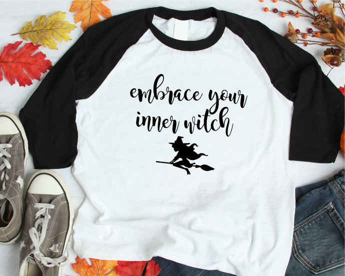 Embrace Your Inner Witch SVG - Crafty Mama Studios