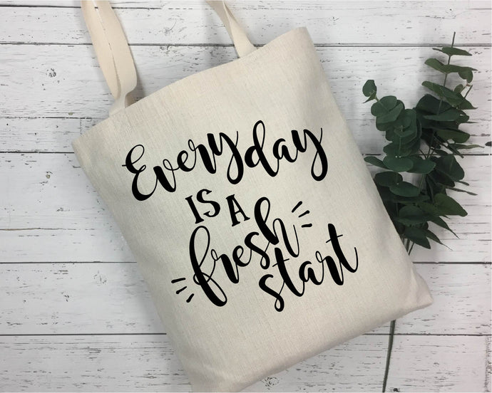 Every Day Is A Fresh Start SVG - Crafty Mama Studios