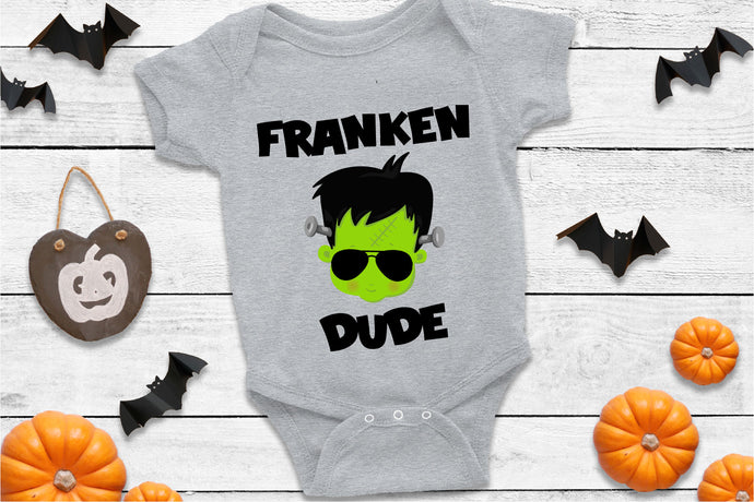 Franken Dude, Halloween SVG - Crafty Mama Studios