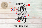 Happy Fourth Of July SVG - Crafty Mama Studios