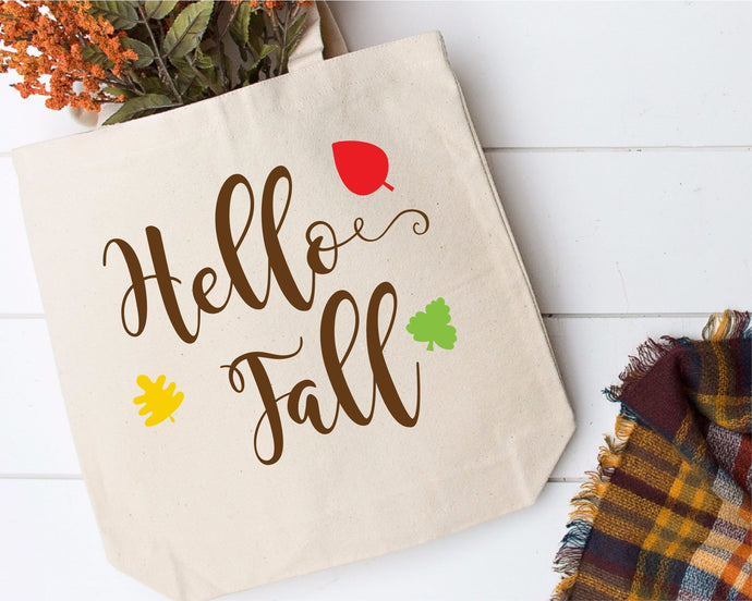 Hello Fall SVG - Crafty Mama Studios