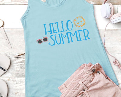 Hello Summer SVG - Crafty Mama Studios
