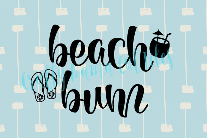 Beach Bum SVG - Crafty Mama Studios