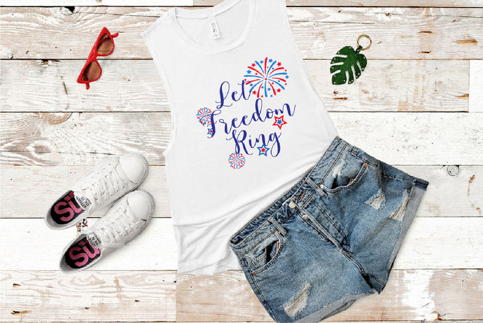 Let Freedom Ring SVG - Crafty Mama Studios