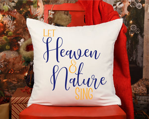Let Heaven And Nature Sing SVG - Crafty Mama Studios