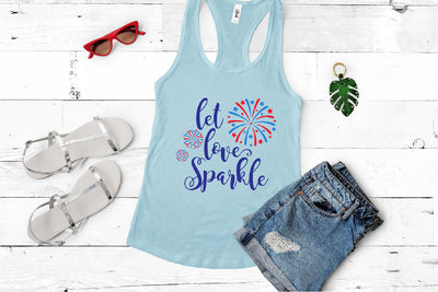 Let Love Sparkle SVG - Crafty Mama Studios