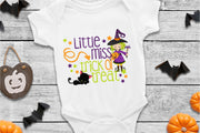 Little Miss Trick Or Treat, Halloween SVG - Crafty Mama Studios