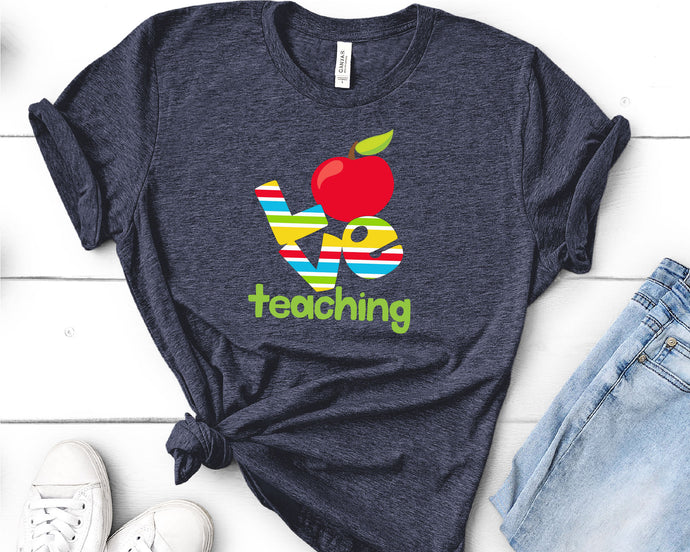 Love Teaching, Teacher SVG - Crafty Mama Studios