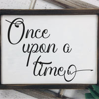 Once Upon A Time SVG