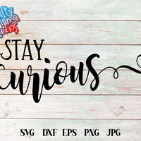 Stay Curious SVG