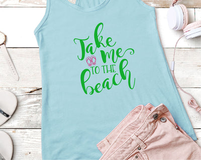 Take Me To The Beach SVG - Crafty Mama Studios
