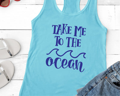 Take Me To The Ocean SVG - Crafty Mama Studios