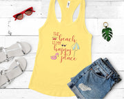 The Beach Is My Happy Place SVG - Crafty Mama Studios
